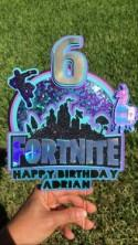 Fornite Cake Topper, Fornite Party, Candy Box, Party favors, Party Decor, Custom party, Fornite, Boy Party, Fornite Cake, Paper Decor