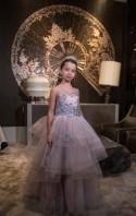 Purple Dress, Princess Dress, Lace Dress, Flower Girl Dress, Pageant Dress, Prom Dress, Luxurious Dress, Wedding Dress, Ball Dress, Lila