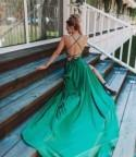 Emerald green bridesmaid dresses Sexy maxi dresses Open back dress Bridesmaid gown Green bodycon dress Party wear dress Evening gowns