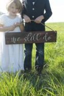 Anniversary Gift, We still do Wood Sign, Wedding Vow Renewal