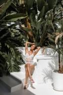 Wedding Bridal Lace lingerie// Wedding lingerie// White boudoir underwear// Honeymoon lingerie// Sexy Bodysuit Teddy ( Lingerie- Sheer)