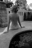 Low Cut Back Wedding Dress