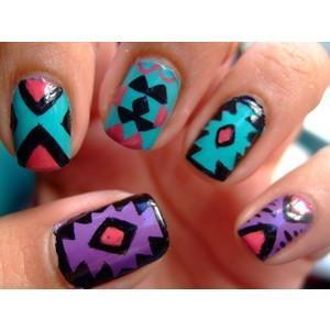 Свадьба - Чешский Nail Art & Design ♥ Смешанная печать Nail Art & Design