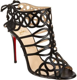 Wedding - Christian Louboutin Wedding Shoes with Red Sole ♥ Chic and Fashionable Wedding High Heels Sandals