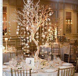 Christmas wedding gifts christmas 1553479 weddbook - Idee centre de table mariage ...