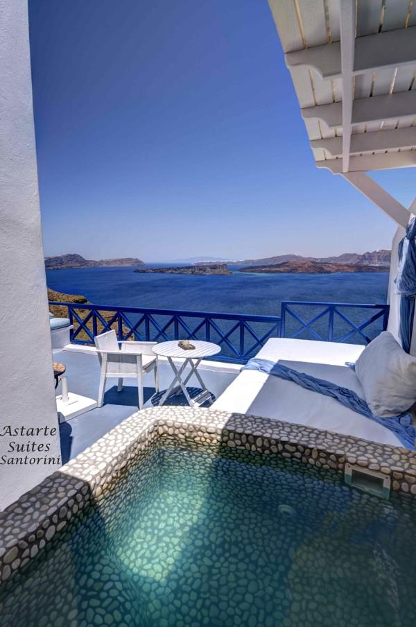 Astarte Suites Hotel Santorini Greece Summer Honeymoon