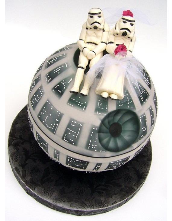 Hochzeit - Starwars Wedding cake