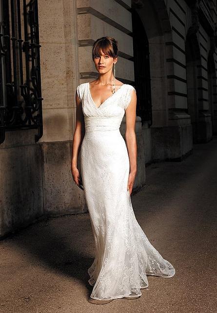 Свадьба - Lace Simple Wedding Dress