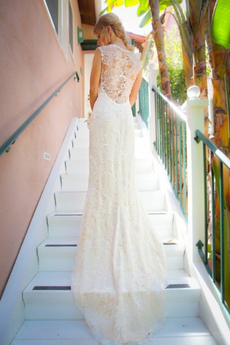 Wedding Dresses Lace Backless : Backless dresses lace wedding gown