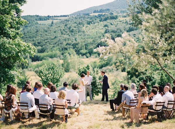 Hochzeit - Outdoor-Trauung Kulisse Ideen - Belle & Chic