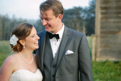 Свадьба - Sarah & Ritz Get Married- Mendocino Spring Ranch Wedding