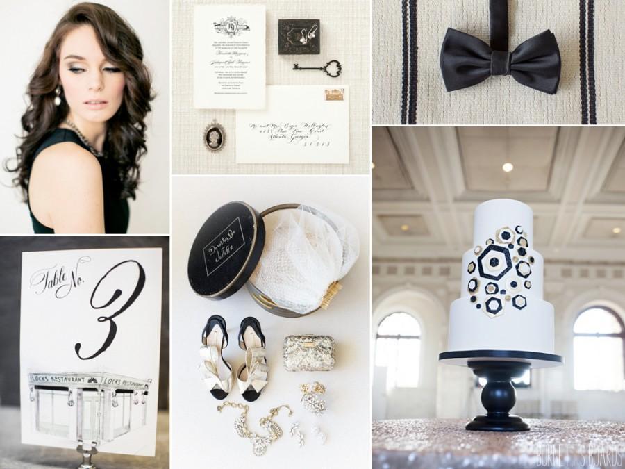 Wedding - Classic Black And White
