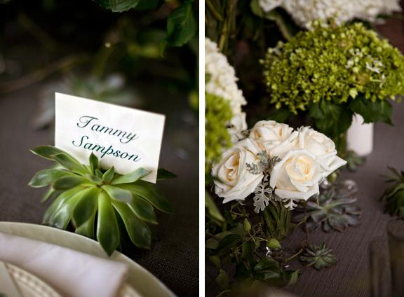 Hochzeit - Southern Bride & Groom Floral Inspiration -- Classic White And Green Tabletop And Bouquet - Southern Bride & Groom