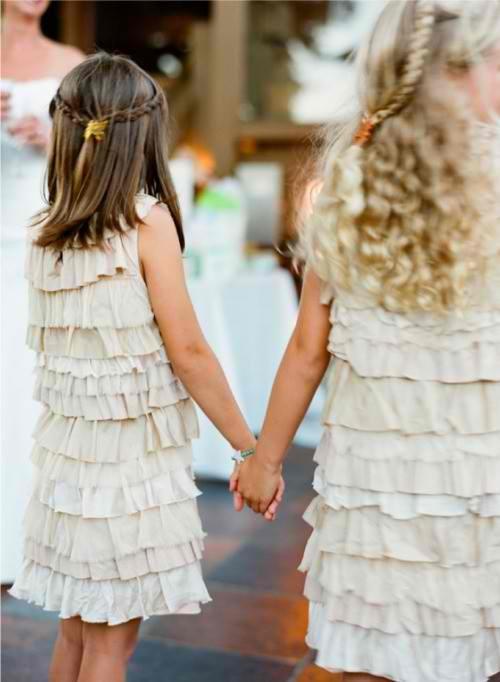 Mariage - Flower Girls