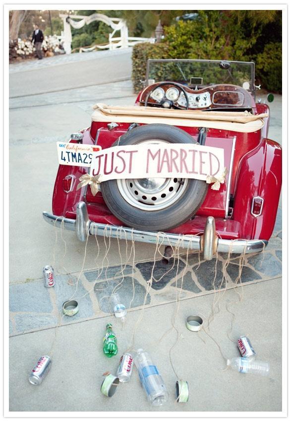 Свадьба - The Getaway Car!