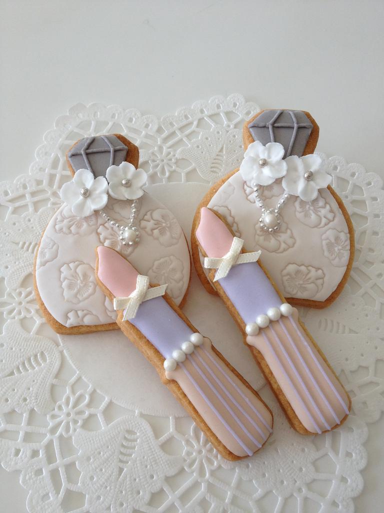 Wedding - Cosmetics cookies