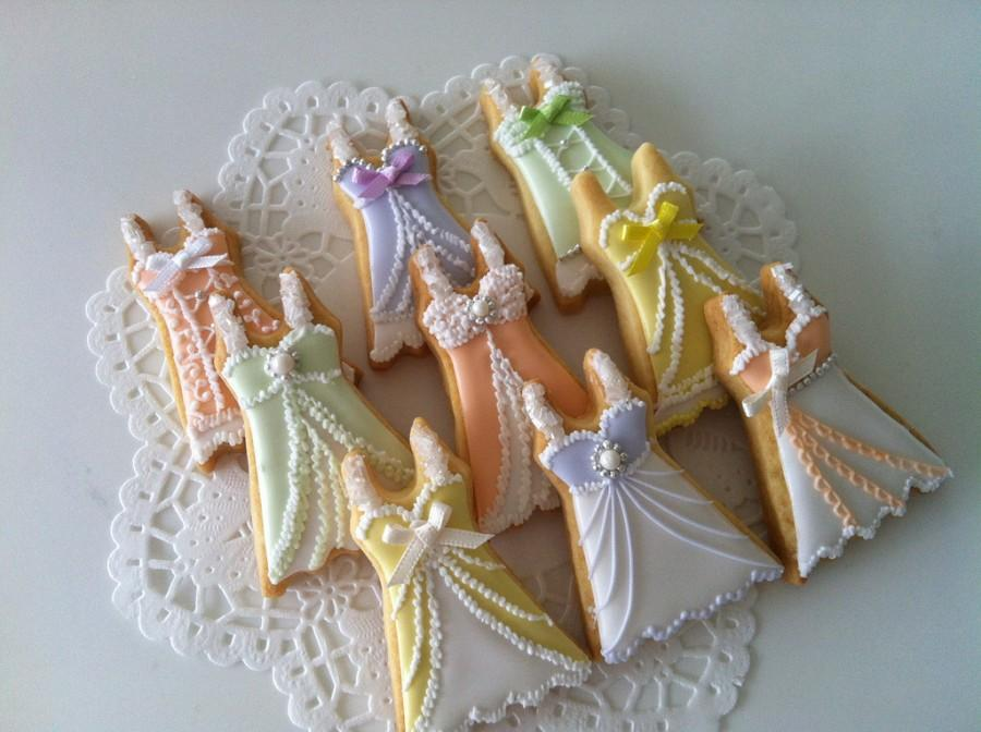 Hochzeit - Lingerie cookies