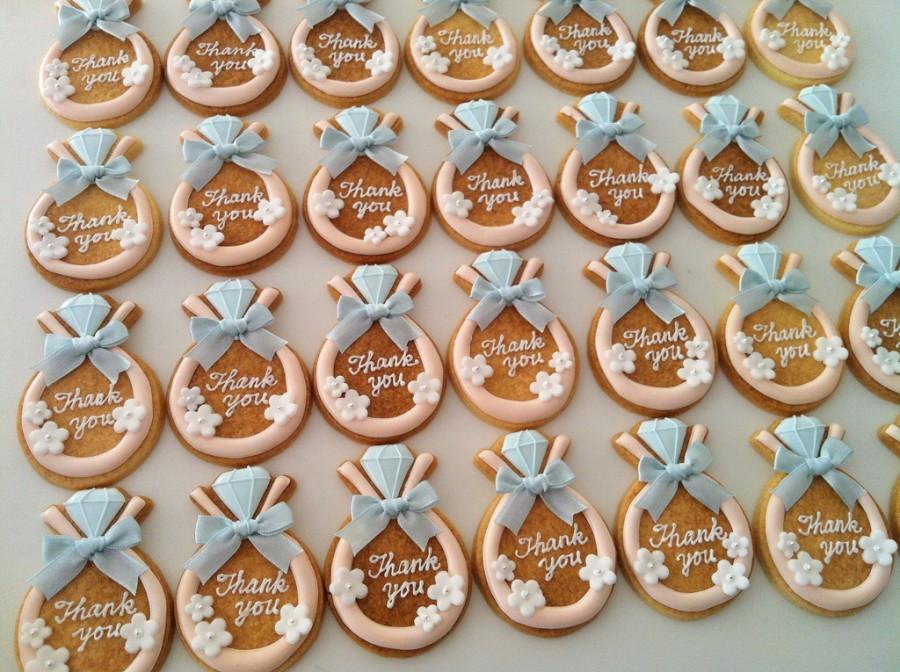 Печенье на свадьбу с фото