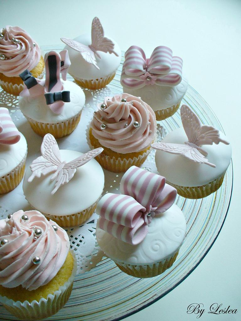 Mariage - Vanilla cupcakes