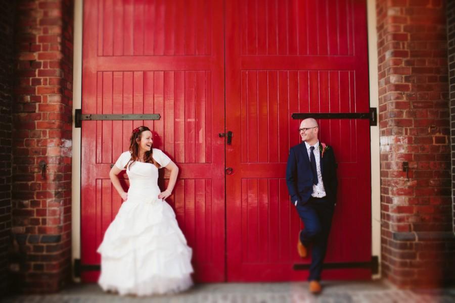 Свадьба - Caroline & Podge-1