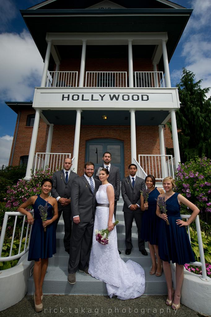 Hochzeit - Hollywood schoolhouse wedding