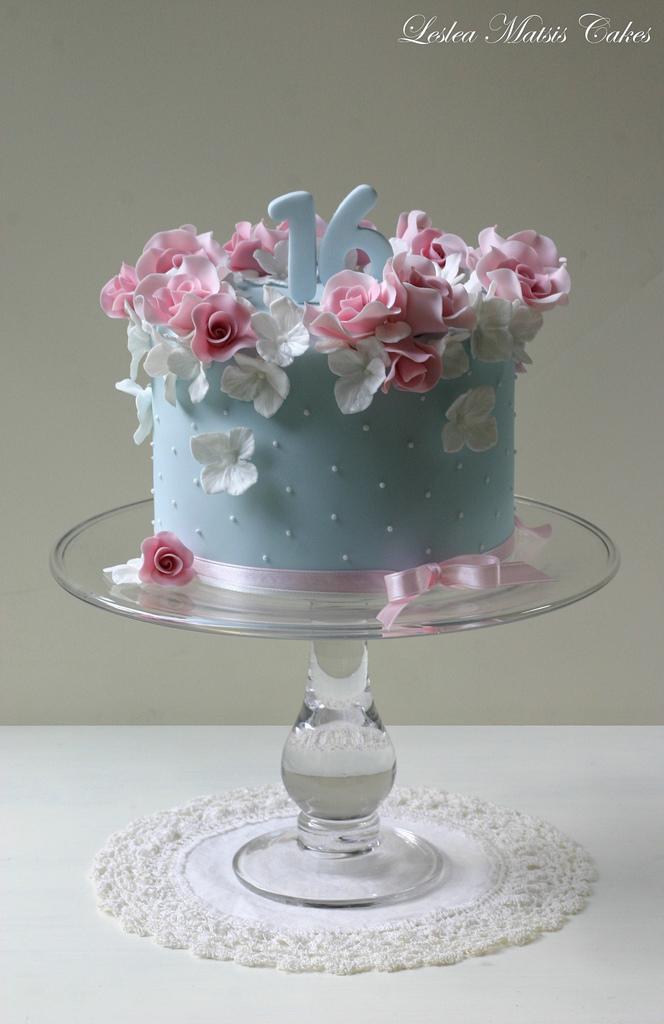 Свадьба - Pink roses and hydrangea