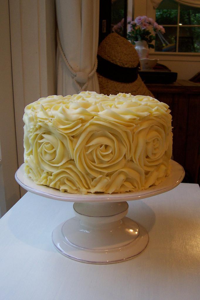 Hochzeit - Buttercream roses