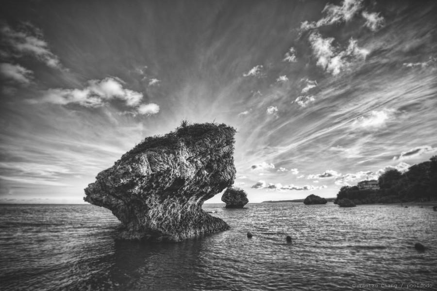 Mariage - [scenery] cloud and rock