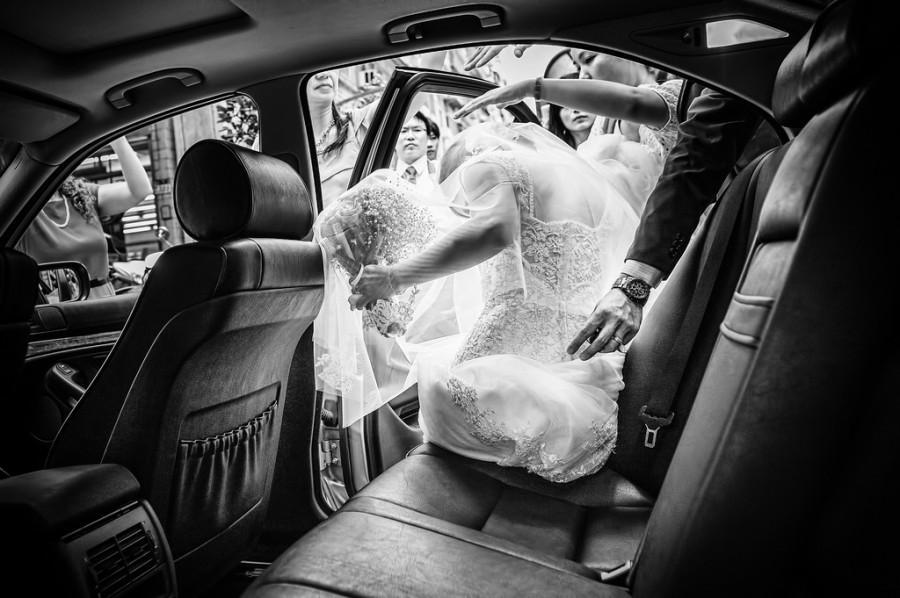 Wedding - [wedding] leaving