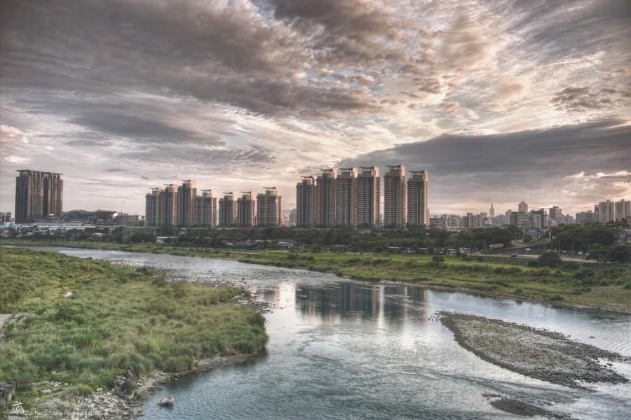 Свадьба - [scenery] riverside of New Taipei City