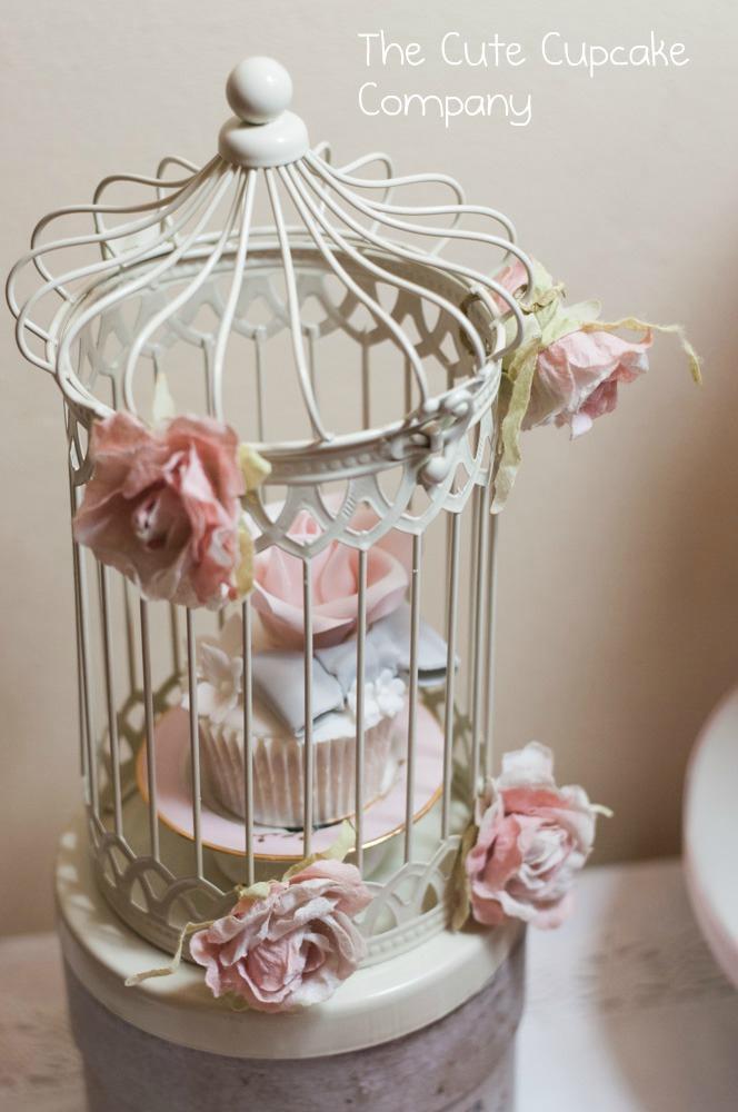 Mariage - Cupcake birdcage