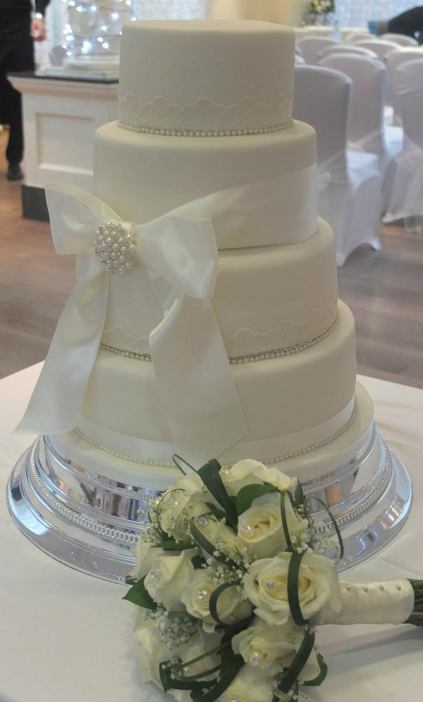 زفاف - Ivory cake