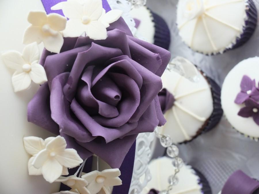 Свадьба - Purple rose