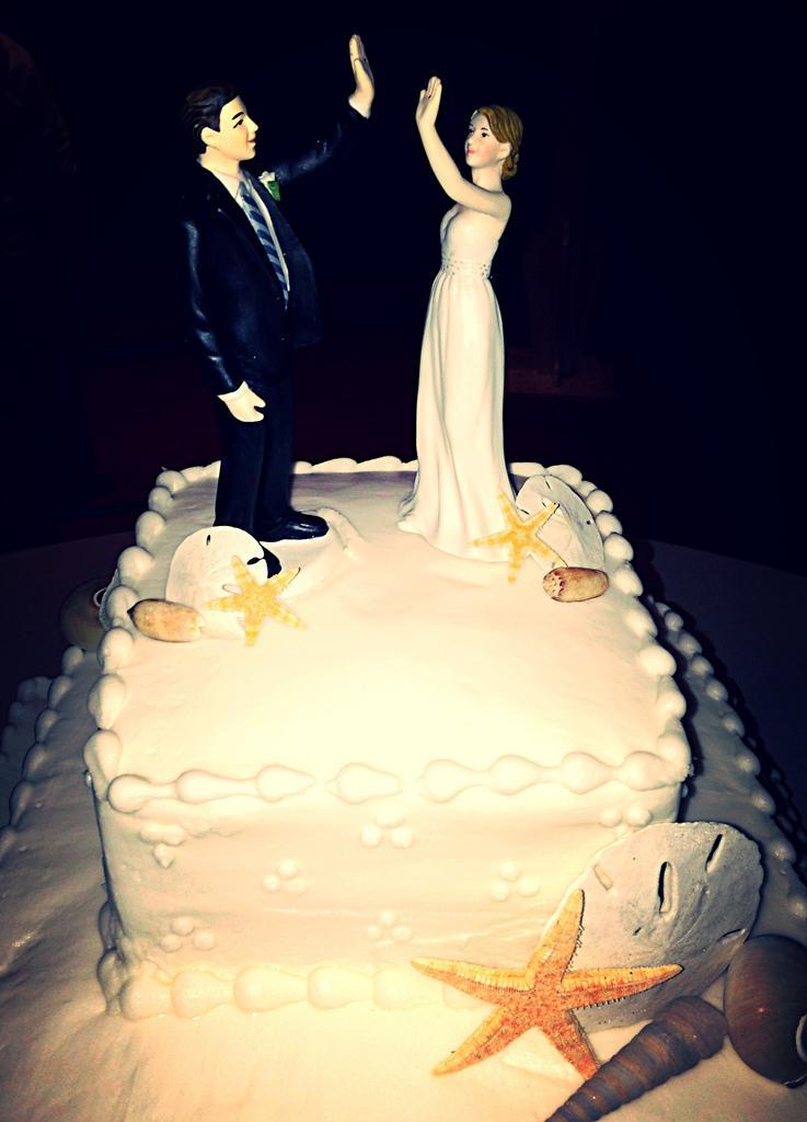 Hochzeit - Wedding Topper High Five