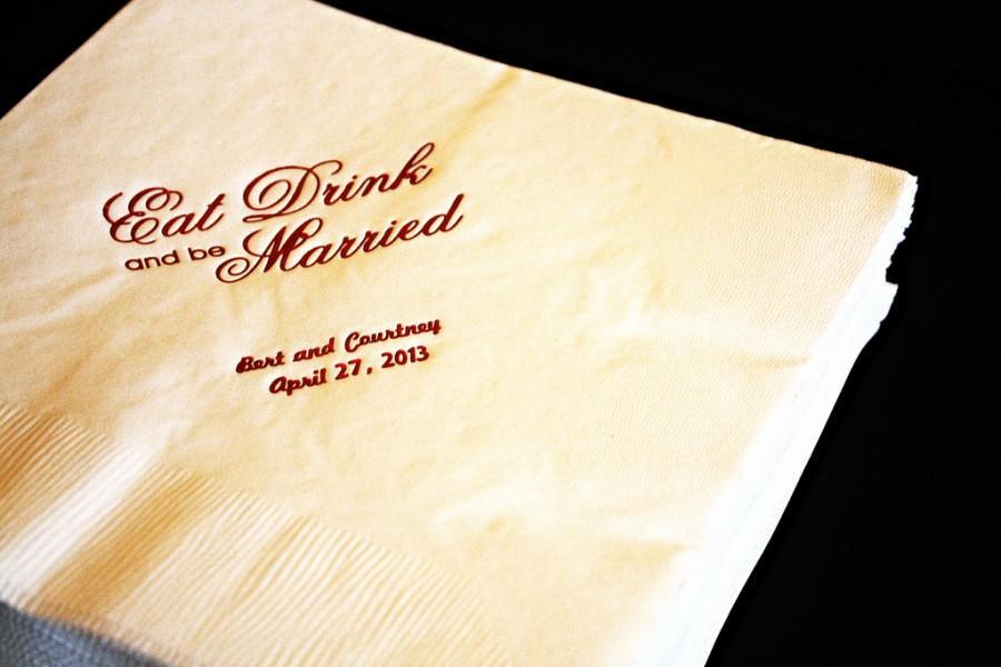 Свадьба - Wedding Napkins