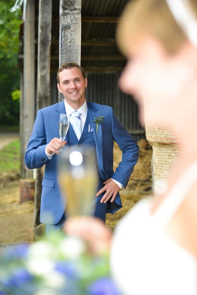 Steve and ellie wedding