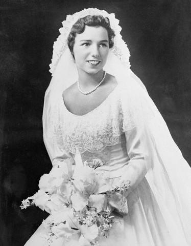 Hochzeit - Chic Vintage Bride – Ethel Skakel Kennedy