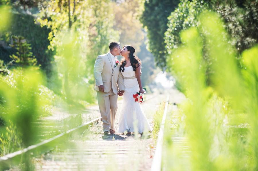 Wedding - Walk and Kiss