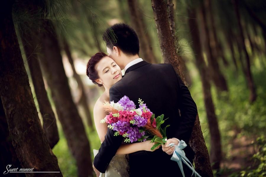 Wedding - Sweet moment