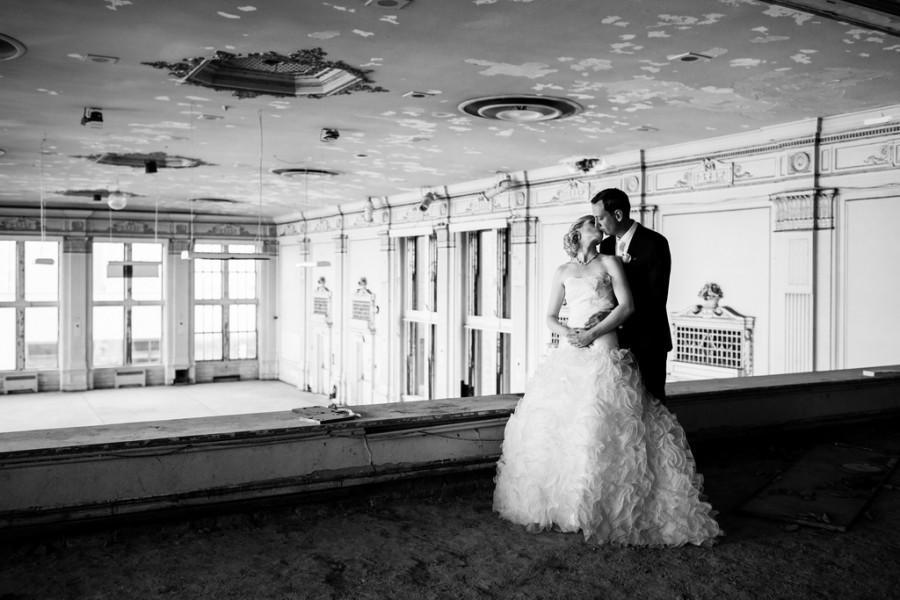Urbex Meets Wedding Photography