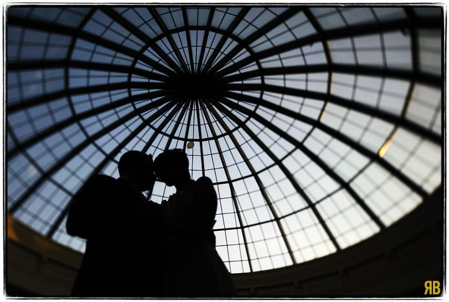 Wedding - First Dance, Under Glass