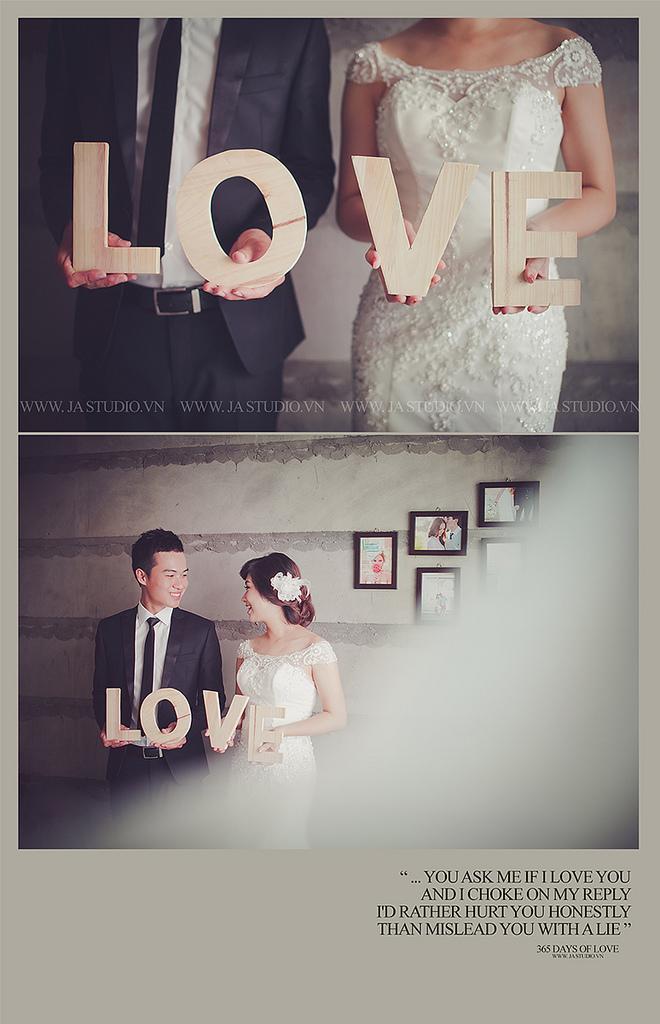 Свадьба - Ảnh cưới đẹp Hà Nội - Biệt thự hoa hồng ( JA Studio - 11E Thụy Khuê )