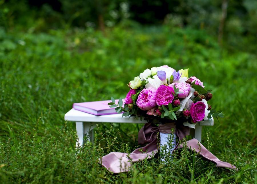 Wedding - summer mood  in September