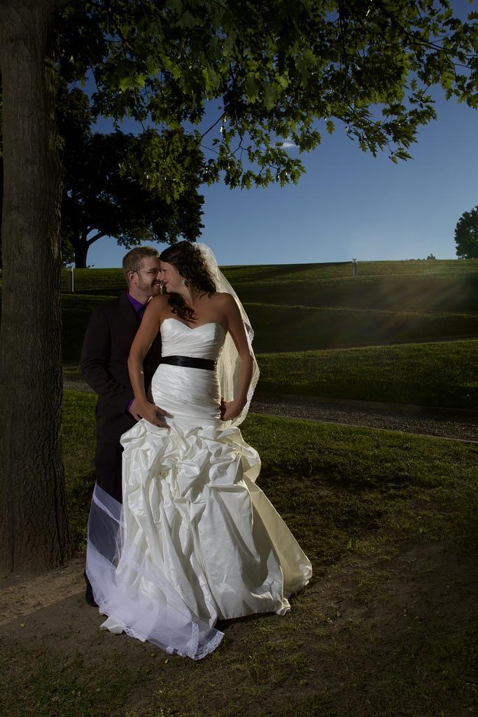 Wedding - Sharing a moment