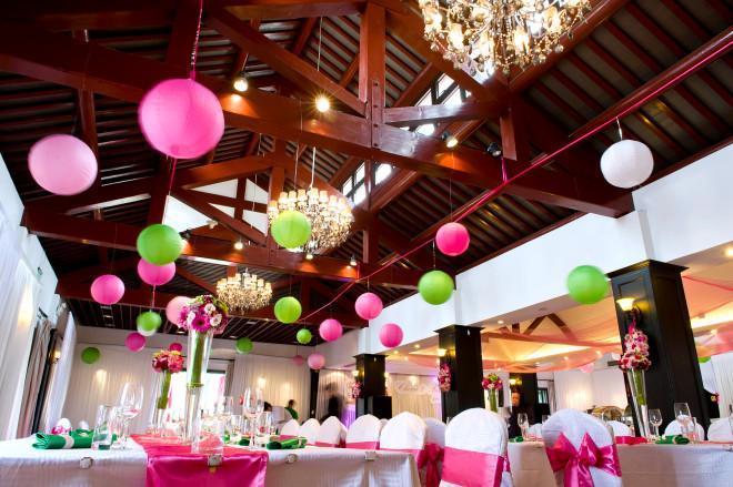 Mariage - Fuschia  & Green Wedding