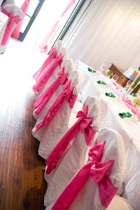 Wedding - Fuchsia & Green Wedding