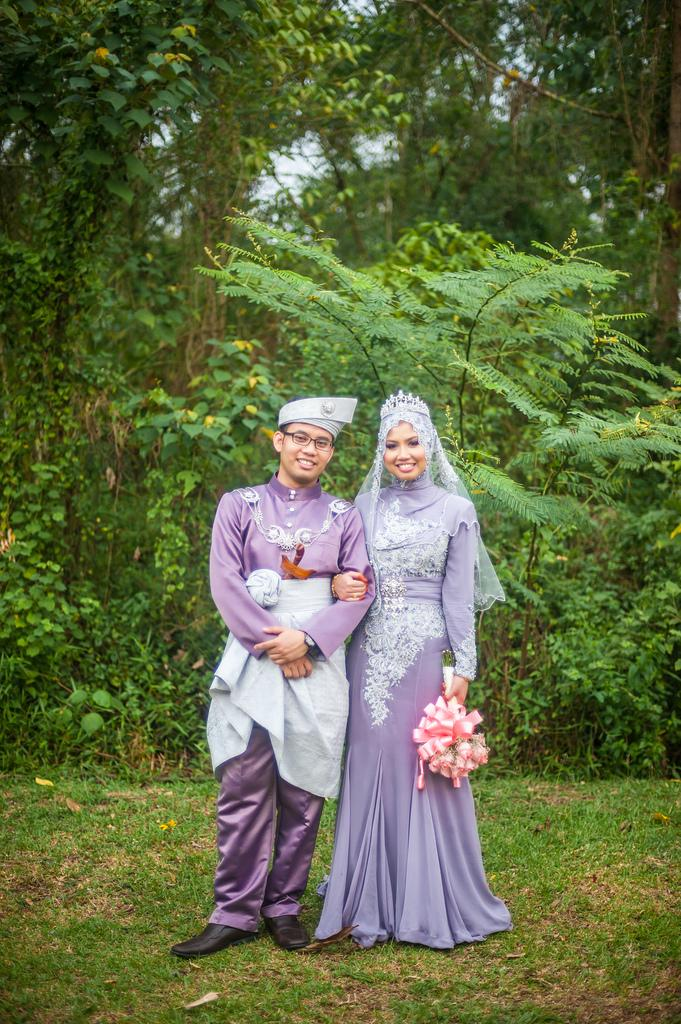 Свадьба - Malay Bride & Groom - A Portrait