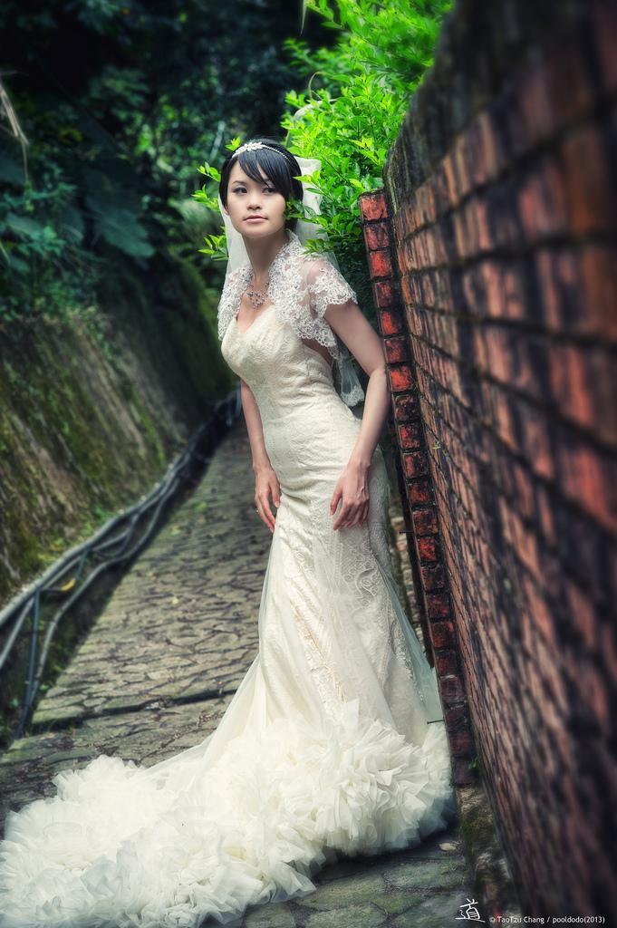 Mariage - [wedding] bride portrait