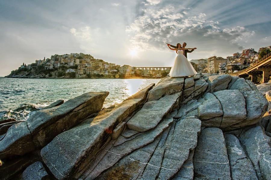 Wedding - Сватбена фотография. Следсватбена фотосесия в Кавала, Гърция