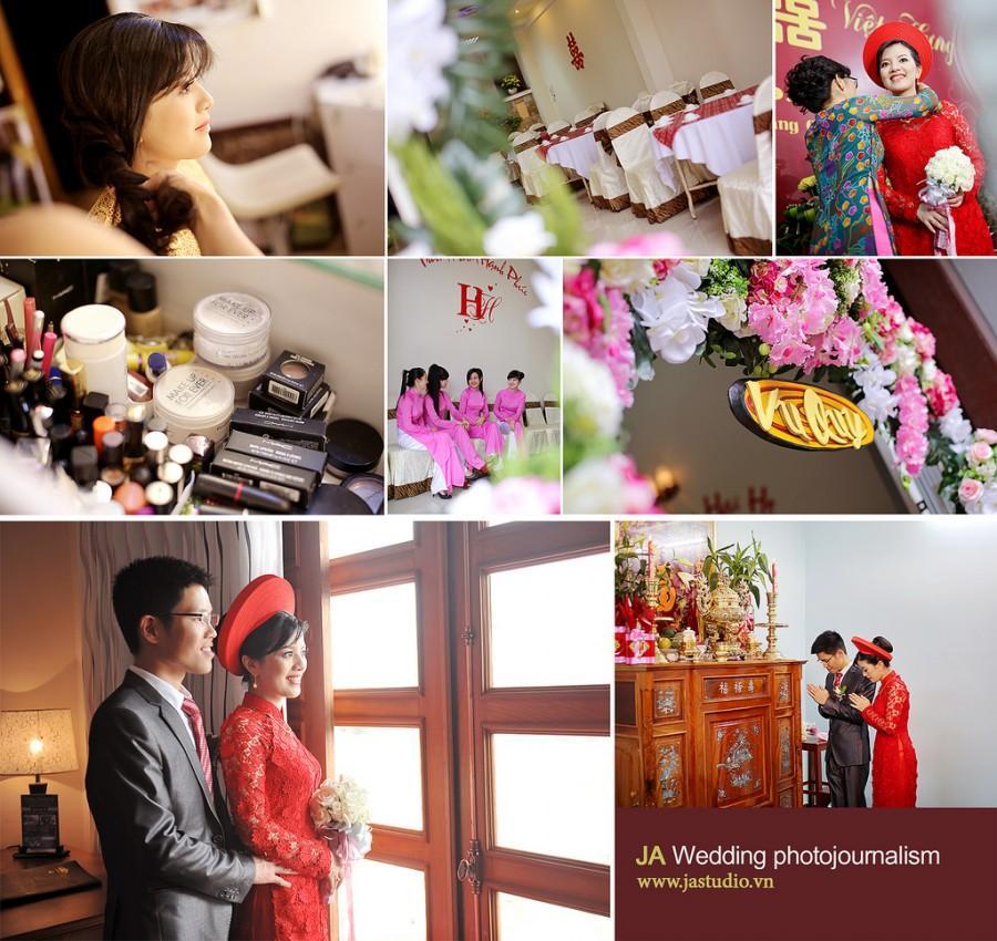 Mariage - Chụp phóng sự cưới - Chụp ăn hỏi đám cưới ( JA Studio - 11E Thụy Khuê )